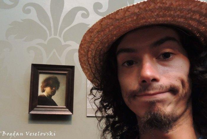 25. Me & Rembrandt (Rijksmuseum)