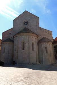 26. Triple apse of the Cathedral of St. Lawrence