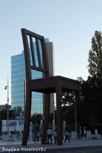 27. Broken Chair by Daniel Berset