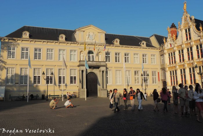 27. Brugse Vrije on the Burg Square - Former manor & Old civil registrar
