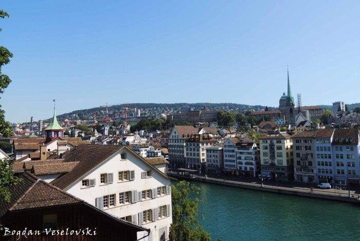27. Zürich city view