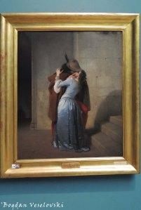 28. Pinacoteca di Brera - 'The Kiss' by Francesco Hayez