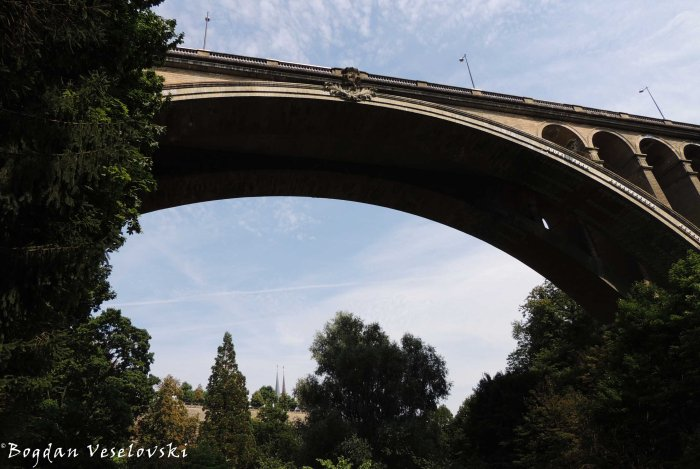 29. Adolphe Bridge - view from below
