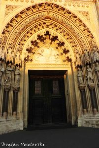 29. Zagreb Cathedral - Entrance portal
