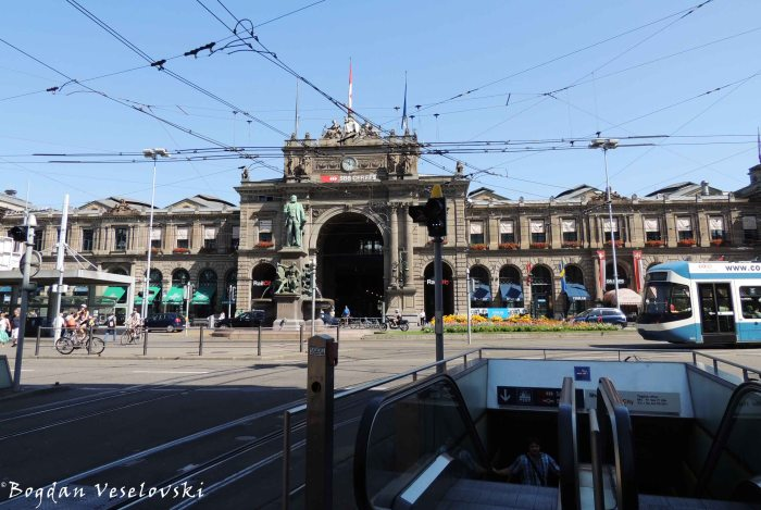 29. Zürich Main Station (Zürich Hauptbahnhof)