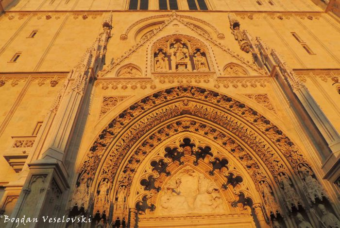 30. Zagreb Cathedral - Entrance portal