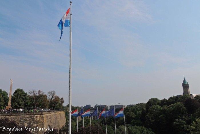 31. Place de la Constitution, Vallée de la Pétrusse & BCEE
