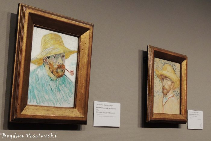 31. Van Gogh Museum - Self-portraits ... if only my beard was a little bigger ...