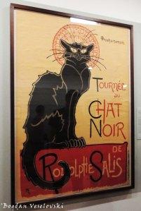 32. Van Gogh Museum - Théophile Steinlen's 1896 poster