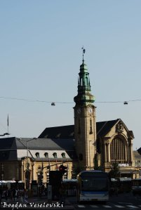 34. Luxembourg railway station