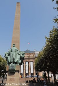 36. Monument to General Leclerc & Opéra national du Rhin