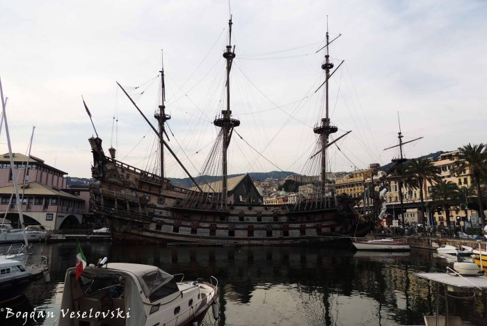 36. Neptune galleon
