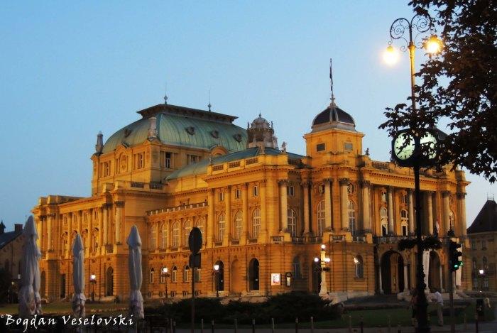 37. Croatian National Theatre in Zagreb (Hrvatsko narodno kazalište u Zagrebu)