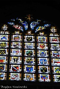39. Stained glass - Our Blessed Lady of the Sablon Church (Église Notre-Dame du Sablon)