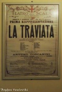41. Teatro alla Scala - 'Traviata' original poster