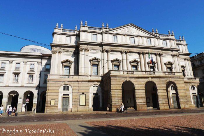 42. La Scala opera house