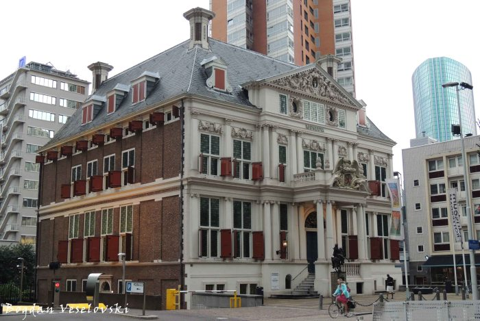 42. Schielandshuis (Museum Rotterdam) - the only 17th century building in the centre of the city to have survived the bombing
