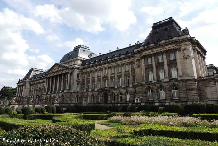 51. Royal Palace of Brussels (Palais Royal de Bruxelles / Koninklijk Paleis van Brussel)
