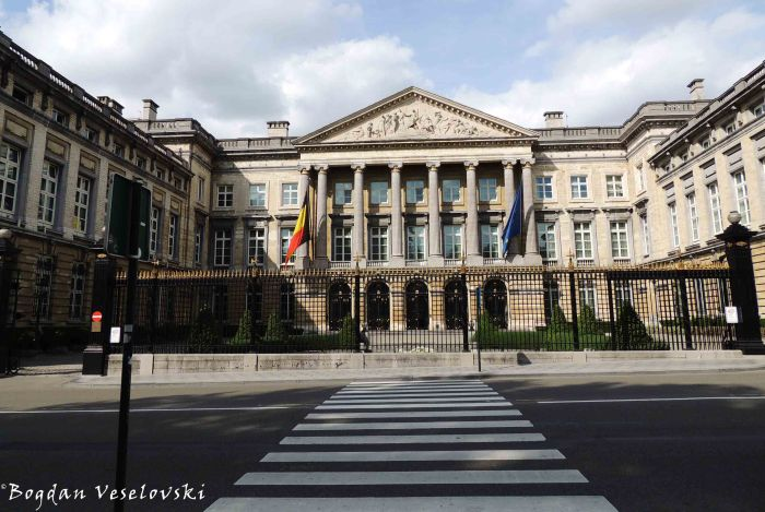 53. Palace of the Nation - Belgian Federal Parliament (Palais de la Nation / Paleis der Natie - Parlement fédéral belge / Federaal Parlement van België)