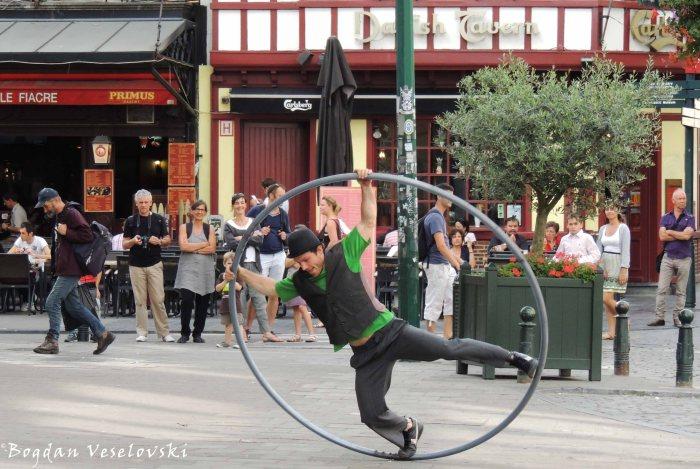 65. Street performance