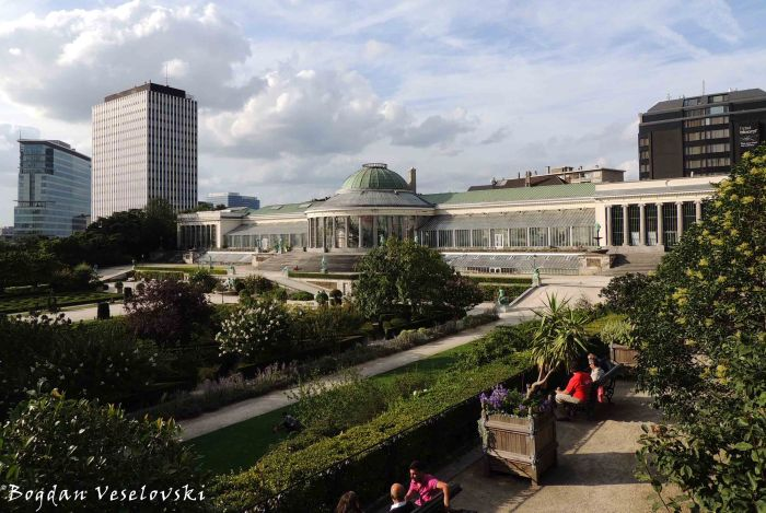 76. Botanical Garden of Brussels