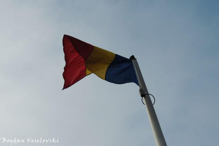 91. Romanian flag
