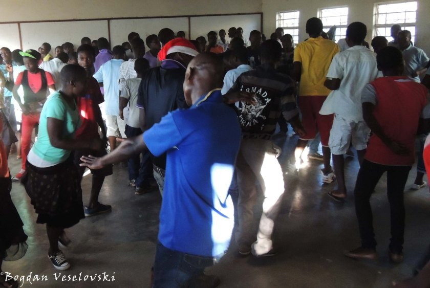 Friday Disco at the Secondary School