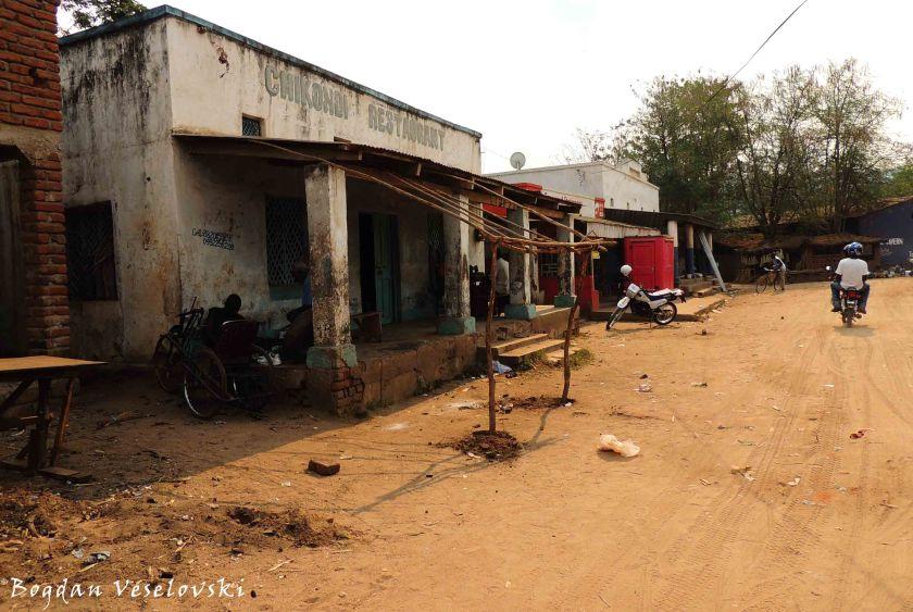 On the way to Nsanje market