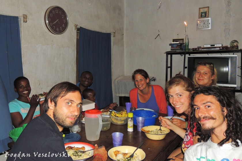 My last dinner with the pastor's family