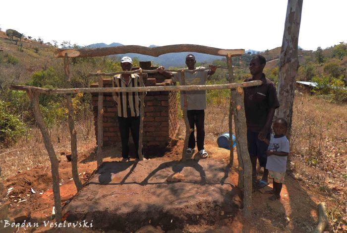 Building a latrine