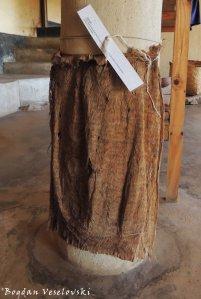 Chiwondo (indigenous cloth in Fudwe Museum, Likoma)