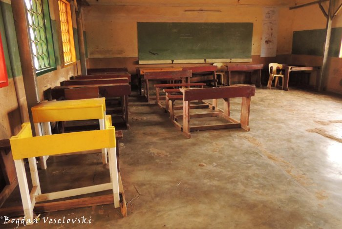 Class room in the primary school