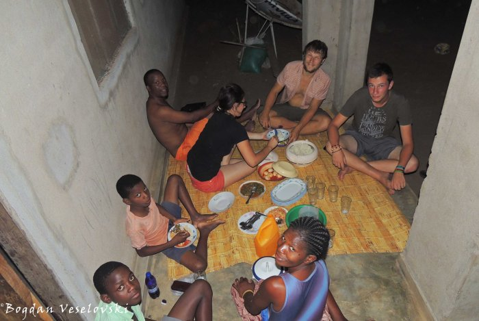 Dinner in Chikwawa
