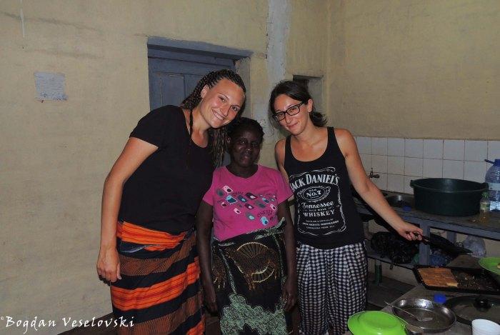 Inga, Mrs. Goba & Laura