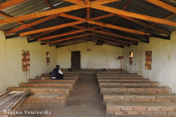 Inside the CCAP Church, Masona