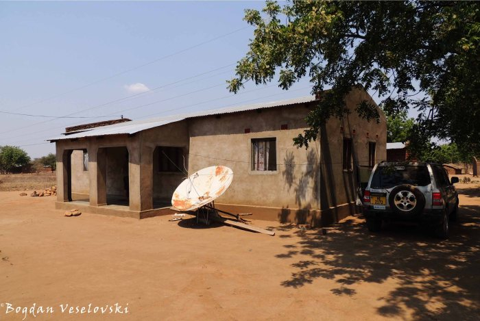 January's house in Chikwawa