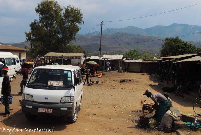 Mini-bus station in Blantyre