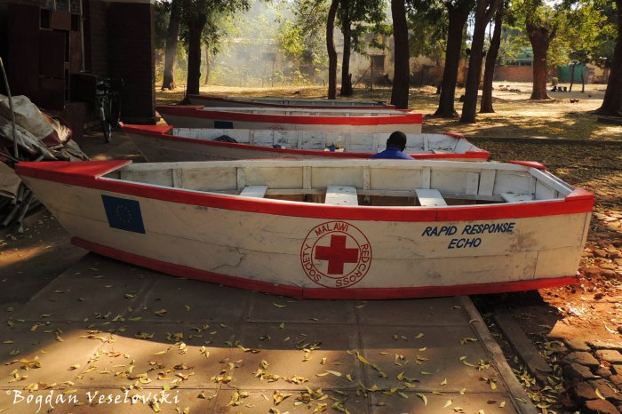 Red Cross boats