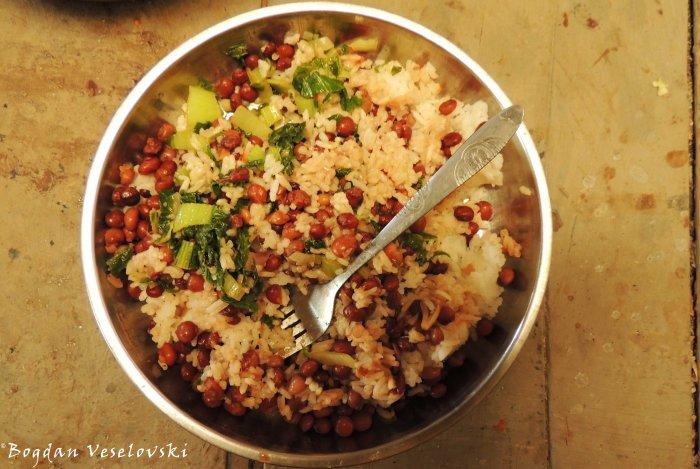 Rise & beans & masamba