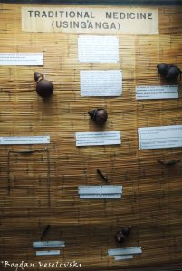 Using'anga (traditional medicine in Blantyre museum)