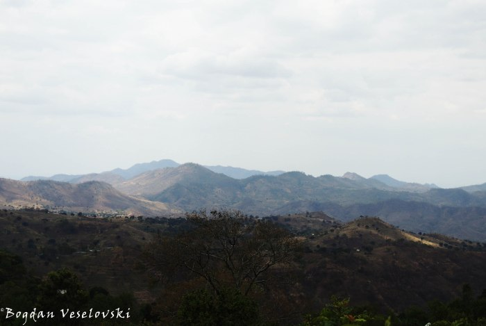 View of Chididi mountains from Mchacha