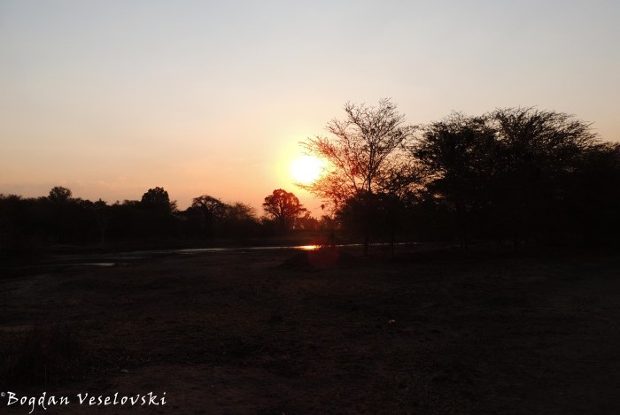 Sunset in Mangochi