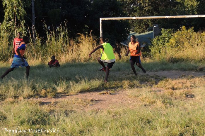Chikaka football training