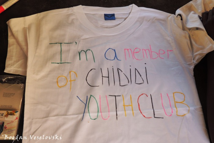 'I am a member of Chididi Youth Club'