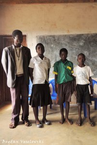 Kaluwa Standard 6 English Spelling Team