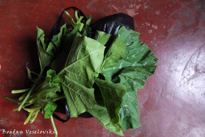 Mnkhwani (pumpkin leaves)