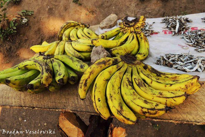 Nthochi za sukuwali (bananas)