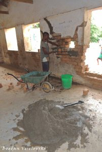 Renovating the primary school