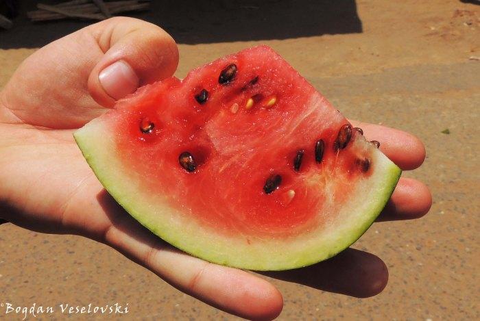 Vwende (watermelon in Lake Chilwa)