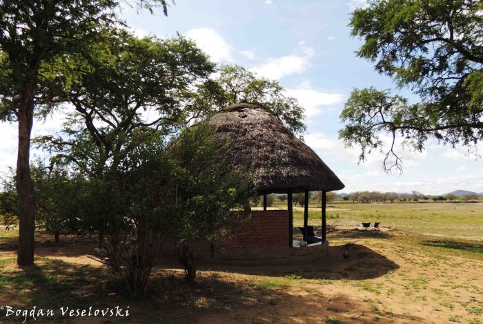 Gazebo in Vwaza Marsh Wildlife Reserve